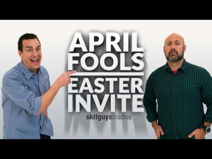 APRIL FOOL'S EASTER INVITE