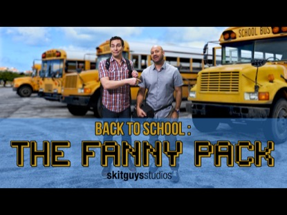 BACK TO SCHOOL THE FANNY PACK
