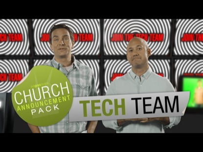 CHURCH ANNOUNCEMENT TECH TEAM