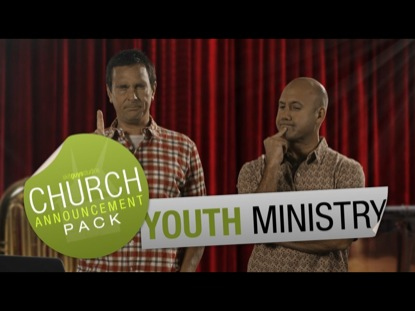 CHURCH ANNOUNCEMENT YOUTH MINISTRY