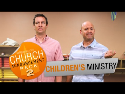 CHURCH PACK 2: CHILDREN'S MINISTRY SKIT GUYS
