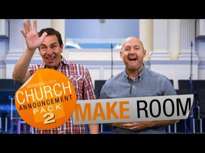 CHURCH PACK 2: MAKE ROOM SKIT GUYS