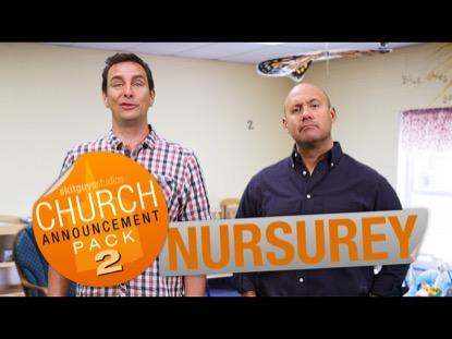 CHURCH PACK 2: NURSERY SKIT GUYS