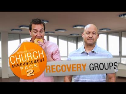 CHURCH PACK 2: RECOVERY SKIT GUYS