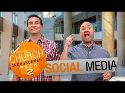 CHURCH PACK 2: SOCIAL MEDIA SKIT GUYS