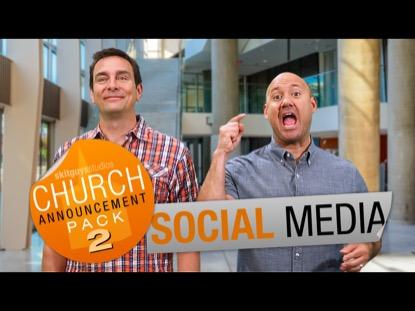 CHURCH PACK 2: SOCIAL MEDIA SKIT GUYS