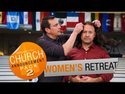 CHURCH PACK 2: WOMEN'S RETREAT SKIT GUYS