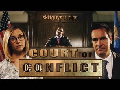 Court Of Conflict | Skit Guys Studios | Preaching Today Media