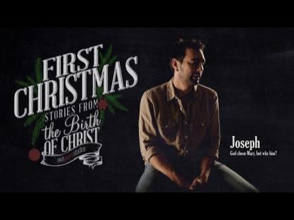 FIRST CHRISTMAS JOSEPH