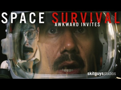 AWKWARD INVITE: SPACE SURVIVAL