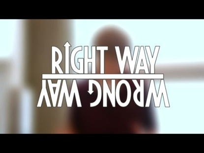 RIGHT WAY, WRONG WAY: BATHROOM