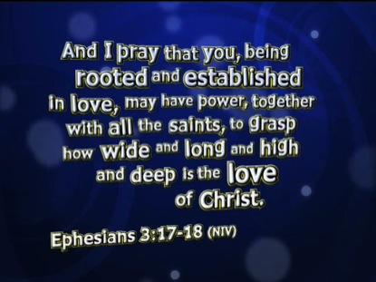 AMAZED EPHESIANS 3:17-18 NIV