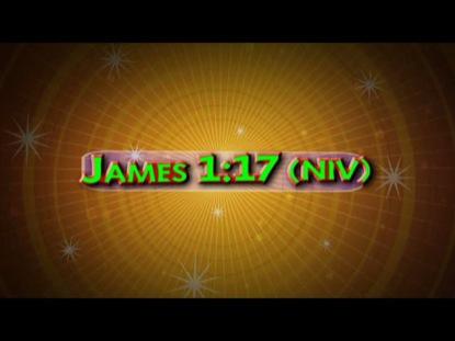 JAMES 1:17 NIV