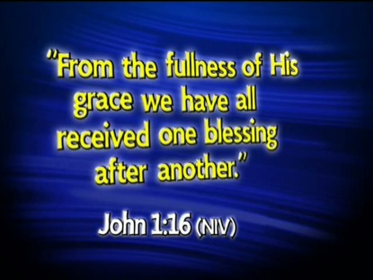 JOHN 1:16 NIV