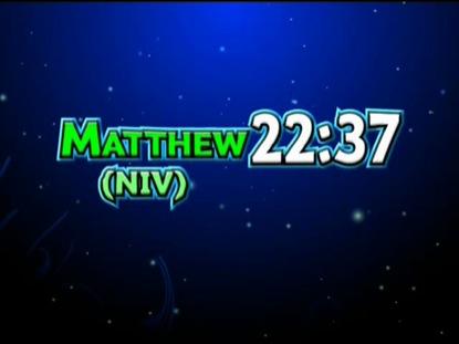 MATTHEW 22:37 NIV