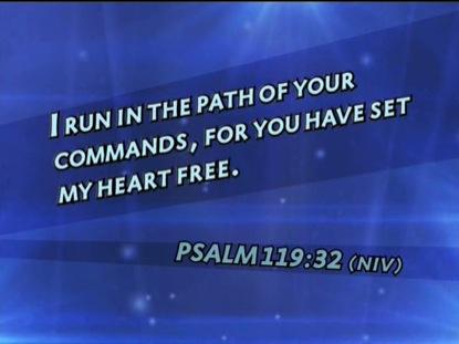 PSALM 119:32 NIV