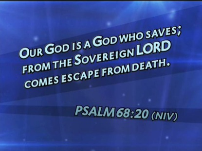 PSALM 68:20 NIV