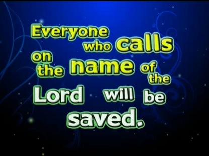 ROMANS 10:13 NIV