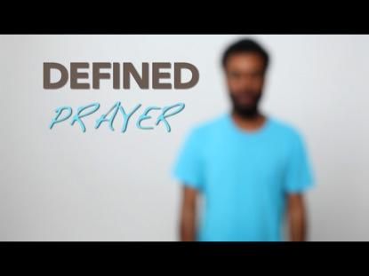 DEFINED-PRAYER