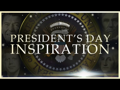 PRESIDENTS DAY INSPIRATION