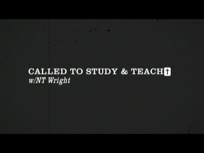 CALLED TO STUDY AND TEACH