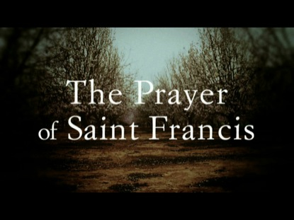 PRAYER OF SAINT FRANCIS