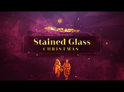 STAINED GLASS CHRISTMAS