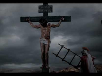 FROM THE CROSS