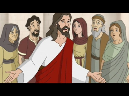 JESUS DRIVES OUT THE MONEY CHANGERS