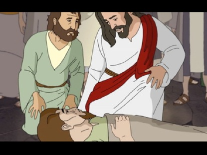 JESUS HEALS AND FORGIVES