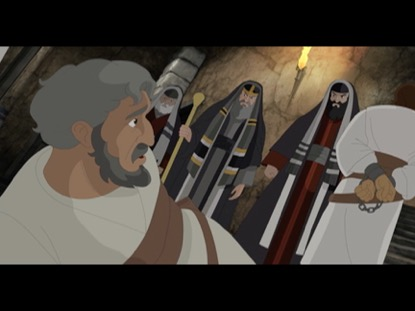 THE WITNESSES 7: THE DISCIPLES MIRACULOUSLY FREED FROM PRISON