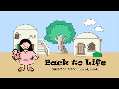 TINY BIBLE TREASURES 1 - BACK TO LIFE