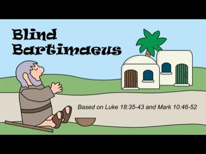 TINY BIBLE TREASURES 7 - BLIND BARTIMAEUS