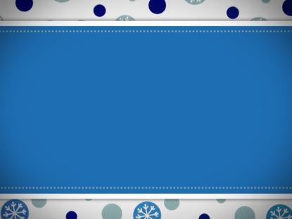 BLUE SNOWFLAKES MOTION LOOP