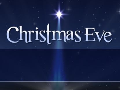 CHRISTMAS EVE BLANK