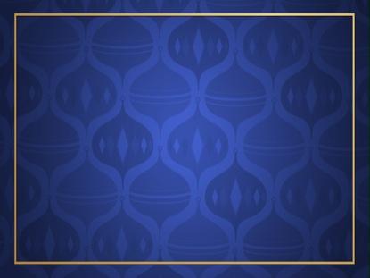 ORNAMENT PATTERN - BLUE