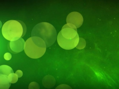 PARTICLE ORB GREEN