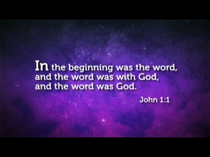 JOHN 1:1