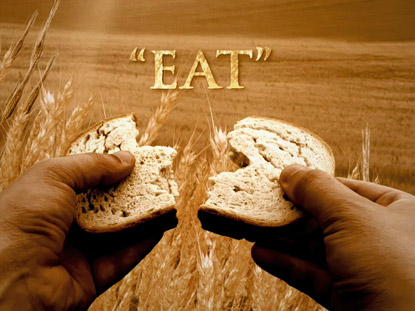 WHEAT WITH EAT TEXT