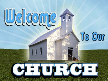 WELCOME TO OUR CHURCH BACKGROUND