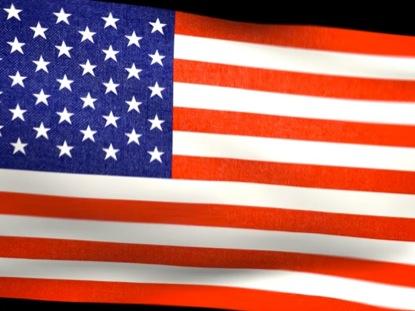 AMERICAN FLAG LOOP 2