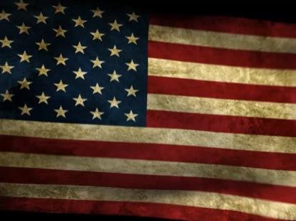 AMERICAN FLAG LOOP 4