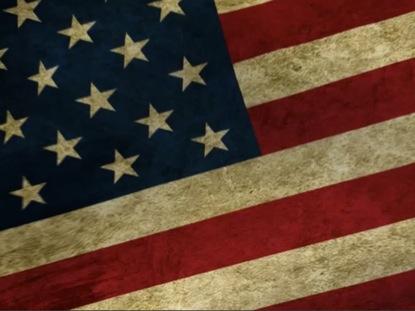 AMERICAN FLAG LOOP 5
