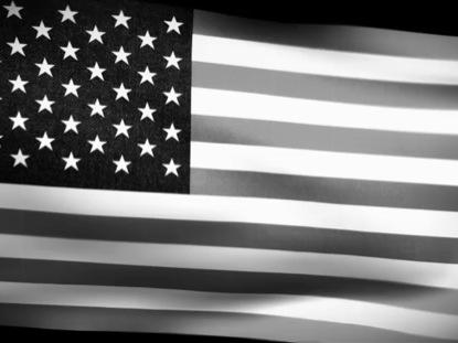 BLACK AND WHITE FLAG LOOP 2