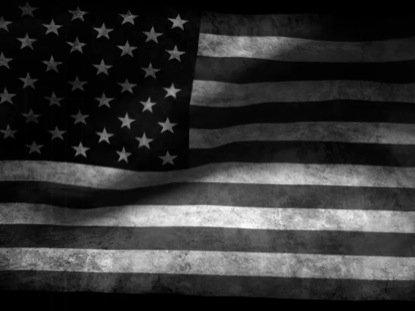 BLACK AND WHITE FLAG LOOP 6