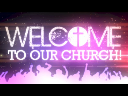 Welcome to our church animated praise worshiphouse media welcome to our church 3 m4hsunfo