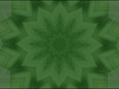 KALEIDOFLOWER GREEN