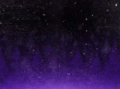 SNOWY FOREST TEXTURE PURPLE