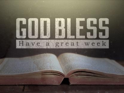 OPEN BIBLE GOODBYE LOOP