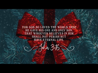 ALL I WANT FOR CHRISTMAS SCRIPTURE MOTION